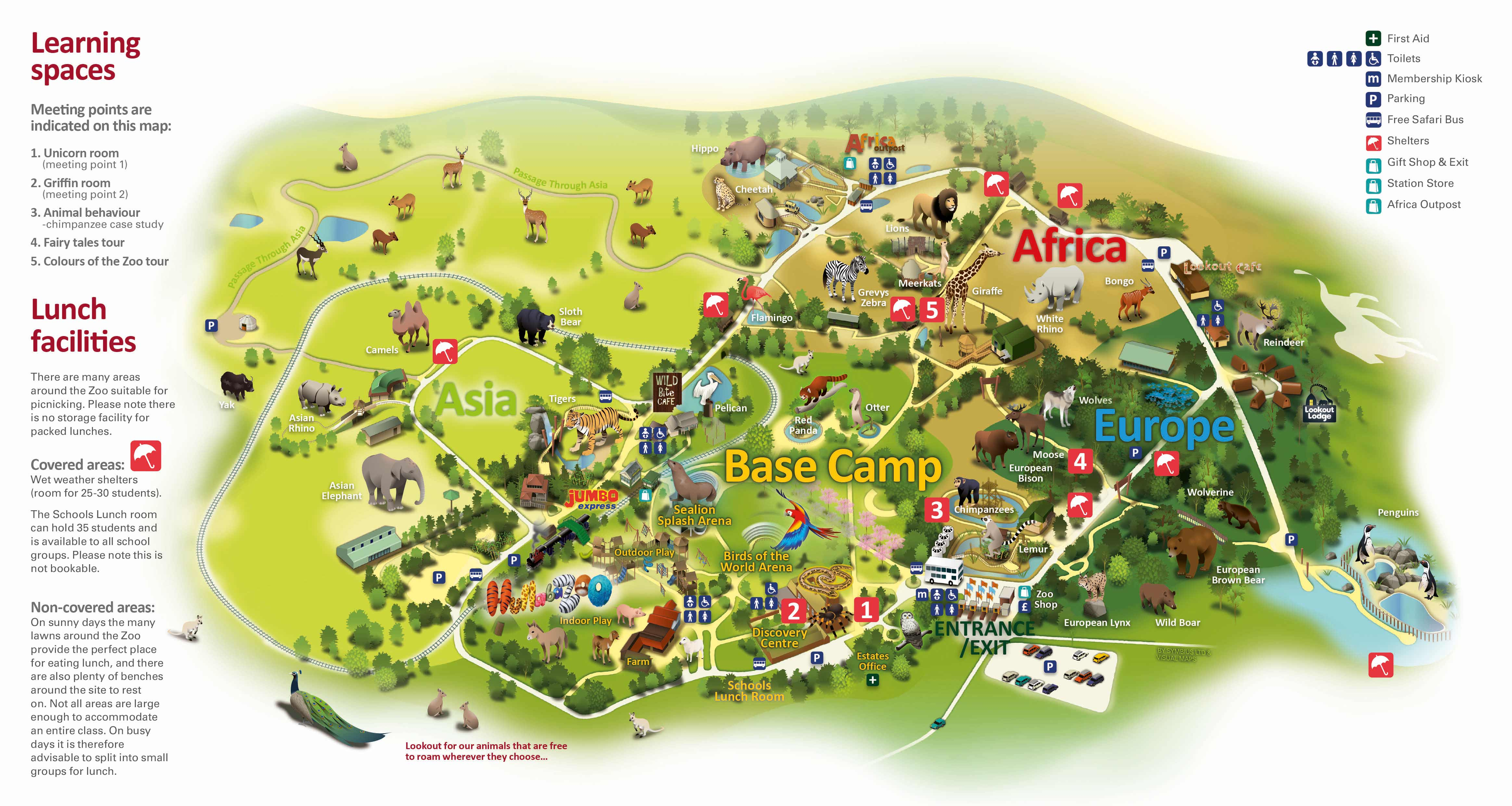 London Zoo On Map  London Map