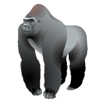 Gorilla Map Icon