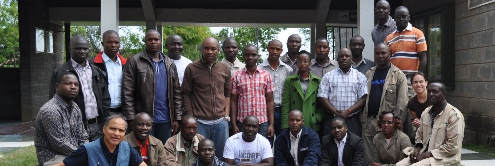 KWS SMART training group photograph