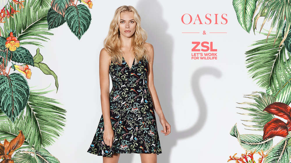 Oasis x ZSL collection