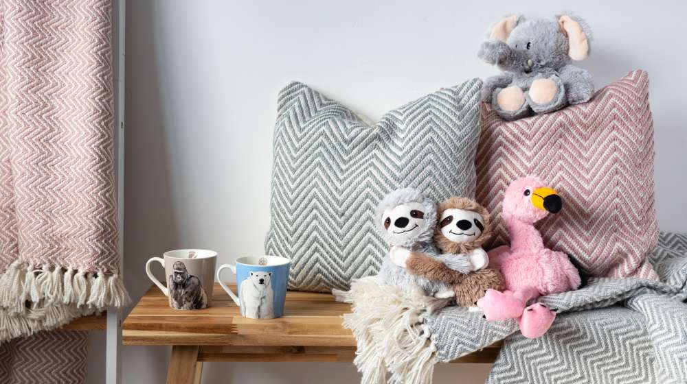 Gifts from ZSL's cosy comforts collection