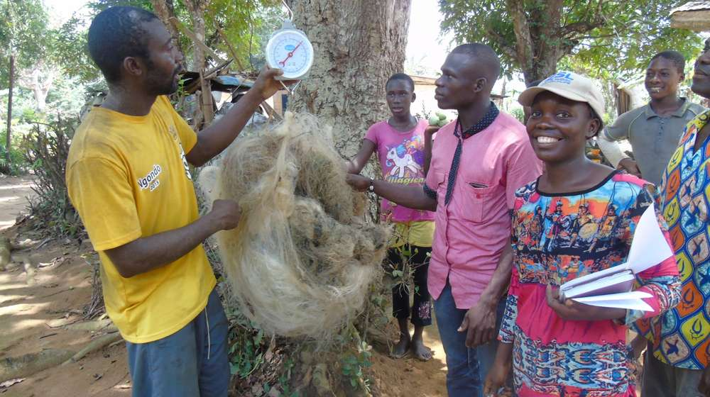 The local communities have worked tirelessly to collect the nets