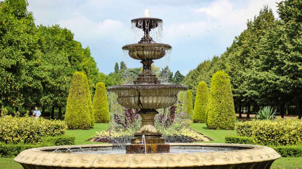 An ornate found in London's Regents Park