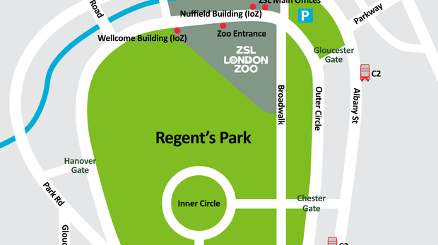 Directions to ZSL London Zoo