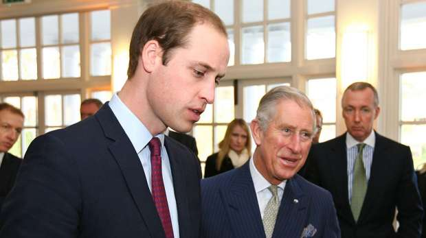 Prince William and Charles visiting Conservation Science