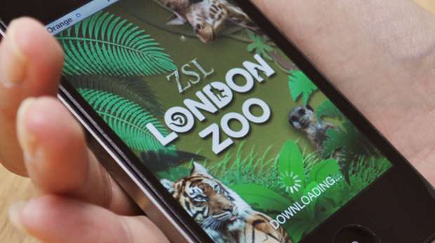 ZSL London Zoo smart phone app