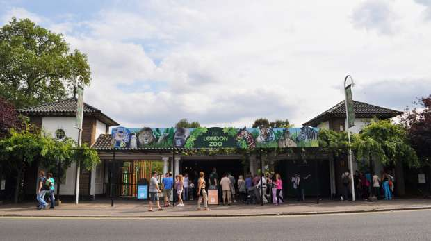 ZSL London Zoo entrance
