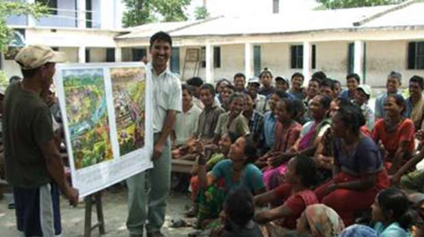 Community discussion on conservation challenges and solutions