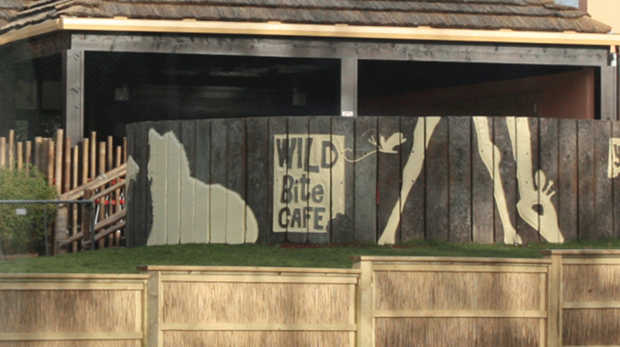 Wild Bite cafe at ZSL Whipsnade Zoo