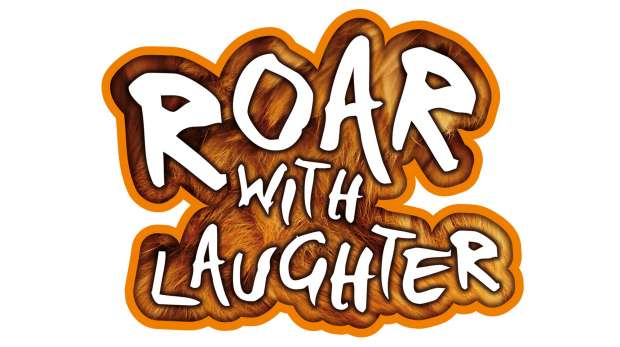 Roar with Laughter logo