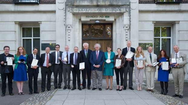 ZSL Scientific Award Winners 2013