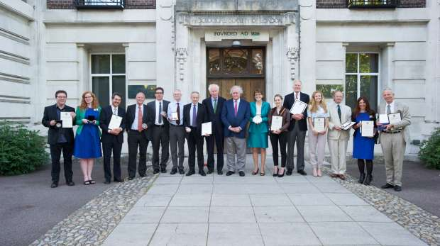 ZSL Scientific Award  group shot