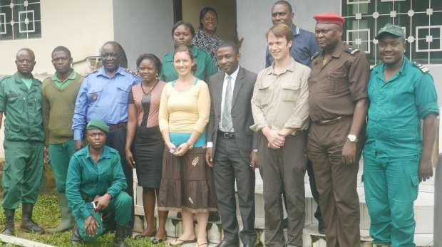 Conservation Service Lake Ossa workshop