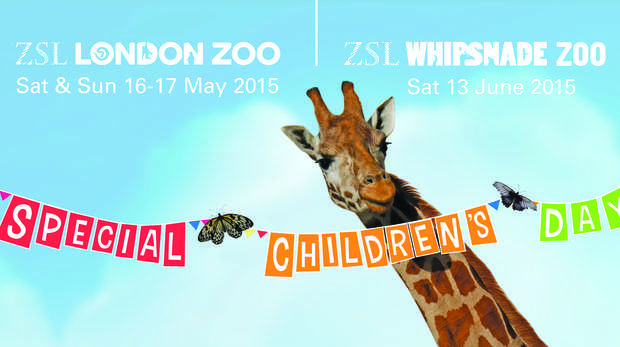 Special Children's Day 2015 16th & 17th May ZSL London Zoo / 13th June ZSL Whipsnade Zoo