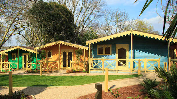 London Zoo Lodges at ZSL London Zoo