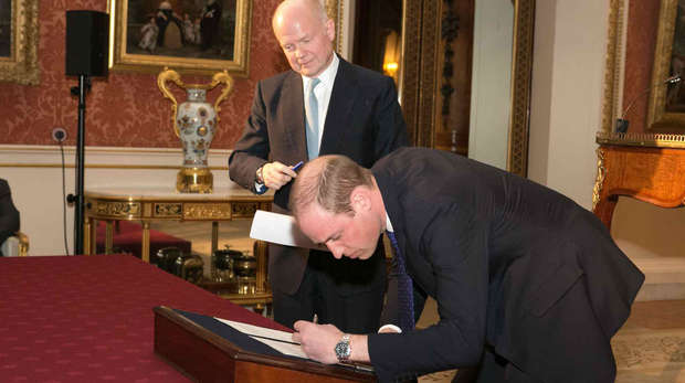 Buckingham Palace Declaration 15th March 2016