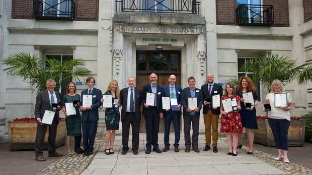 ZSL Scientific Award winners