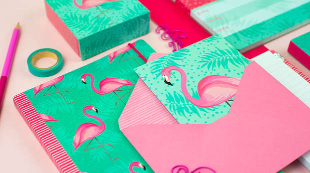Flamingo Stationery
