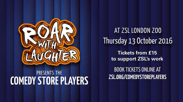 Roar with Laughter presents the Comedy Store Players