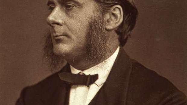 Image of a young Thomas Henry Huxley.