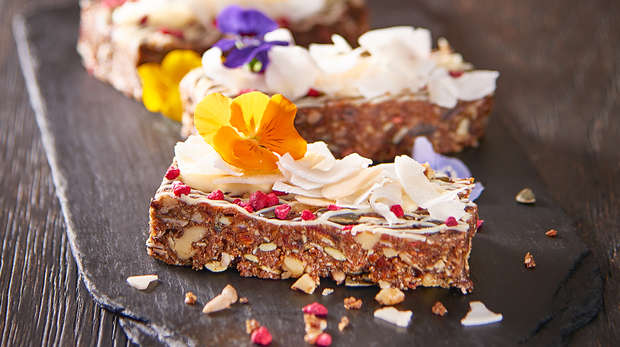 Muesli bars at the Terrace Restaurant