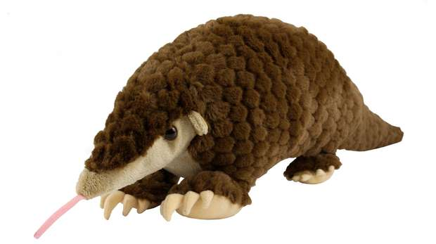 Pangolin plush toy