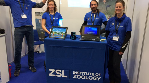IoZ researchers at the Polar Fish Trade Fair