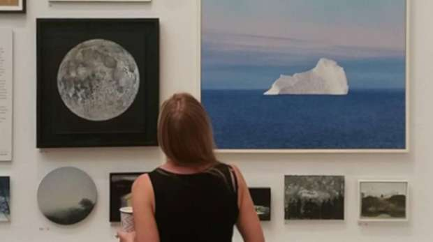 Imagery of wildlife, icebergs, forests and oceans at the Royal Academy's 2019 Summer Exhibition