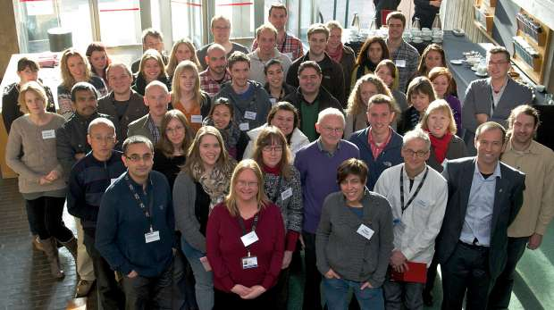IoZ staff and students 2013