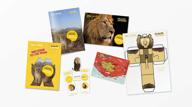 Wildlife Champions Limited Edition Asiatic Lions Pack