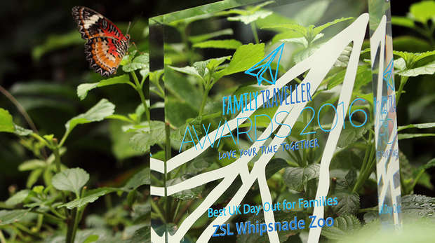 ZSL Whipsnade Zoo family traveller award