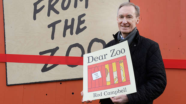 Rod Campbell at ZSL London Zoo