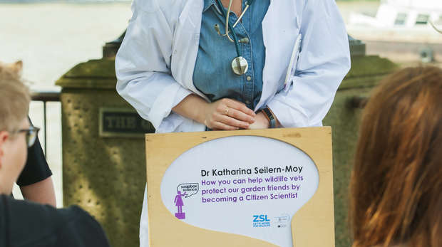 Katharina Seilern-Moy at Soapbox Science