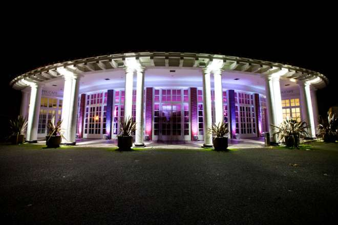 A wedding/ party at Mappin Pavilion, demonstrating venue hire.