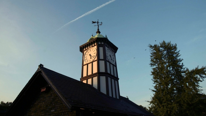 Photo - ZSL London Zoo's Clock Tower at dusk