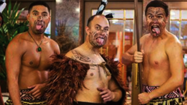 Haka team building event at ZSL London Zoo