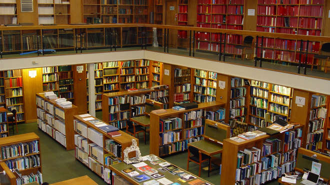 Library at ZSL