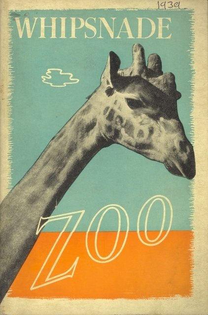 An old copy of the ZSL Whipsnade Zoo Guide.