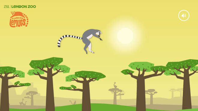 Lemurs Game Screen Shot