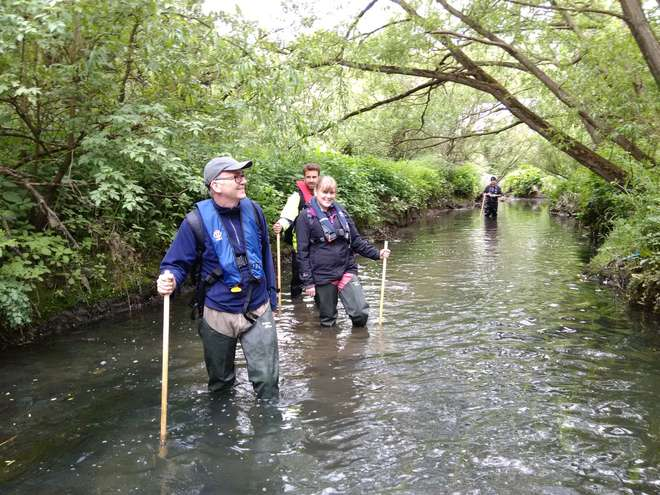 Volunteer for London's rivers