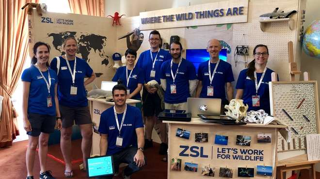 Where The Wild Things Are stand at the Royal Society Summer Science Exhibition