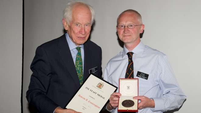 Andrew Cunningham_ZSL Staff Medal