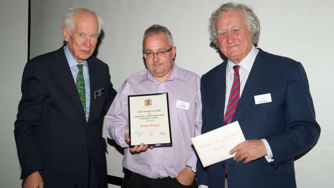 David Bilton Marsh Award for Marine and Freshwater Conservation