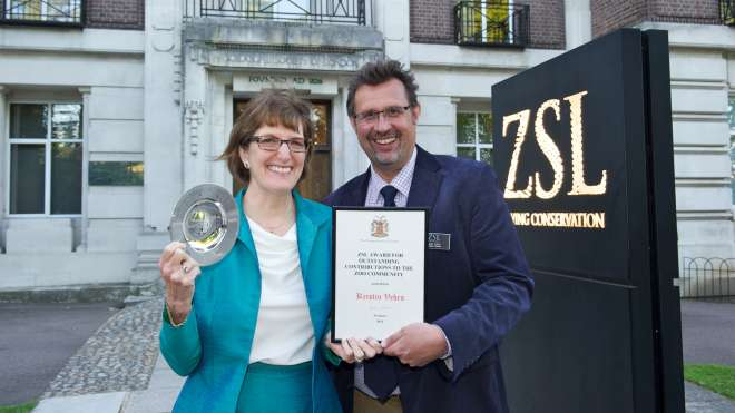 Kristin Vehrs_ZSL Award for Outstanding Contributions