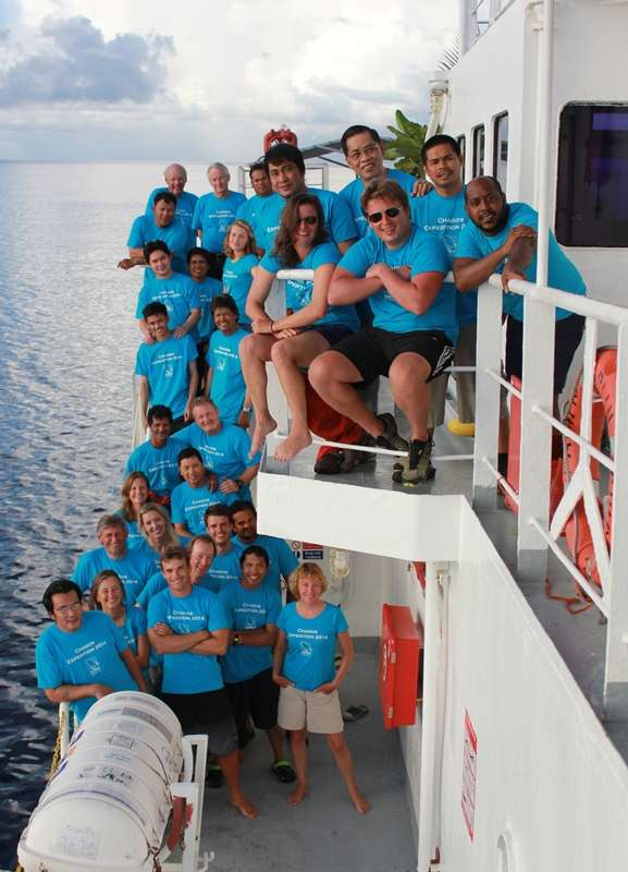 BIOT Science Expedition Crew, Chagos