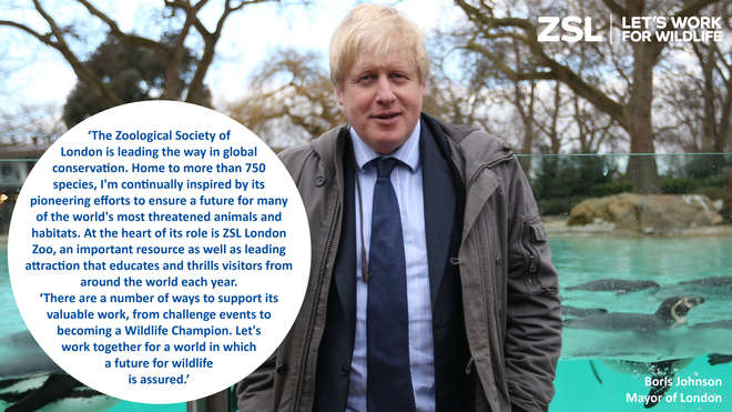 Boris Johnson on ZSL