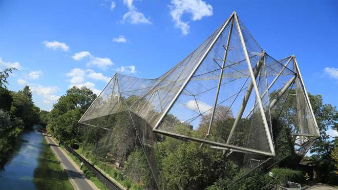 Snowdon Aviary, ZSL London Zoo