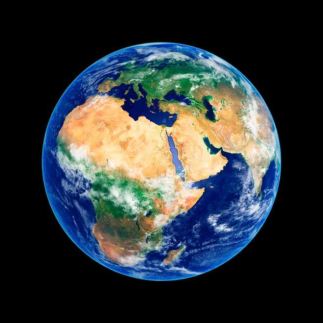 Earth - Africa and the Middle East