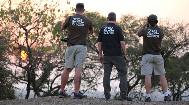 ZSL Staff in the Gir
