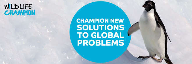 Wildlife Champions - Champion new solutions to global problems